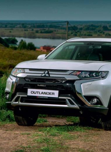 Семиместный Mitsubishi Outlander. Ты бы меня ещё о внуках спросил…