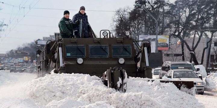 Осторожно, за окном Россия!