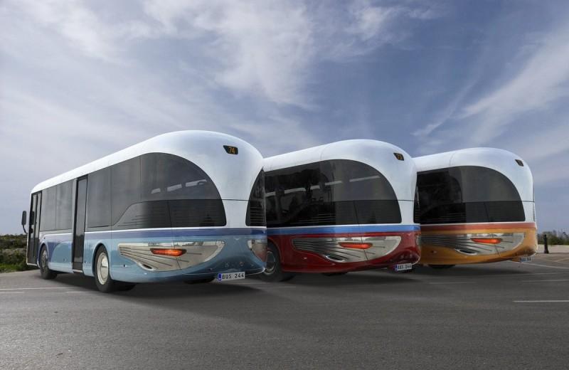 Новые автобусы для Мальты от Mizzi Studio – возрожденный символ маленькой страны