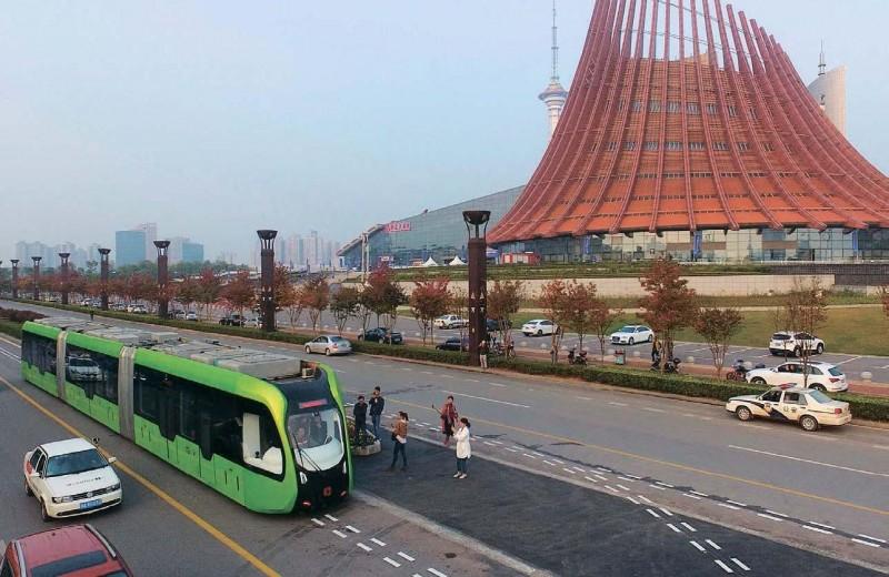 Беспилотный трамвайбус