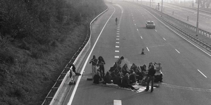 Пикник на автостраде Голландия, 4 ноября 1973 года