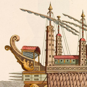Личный корабль императора