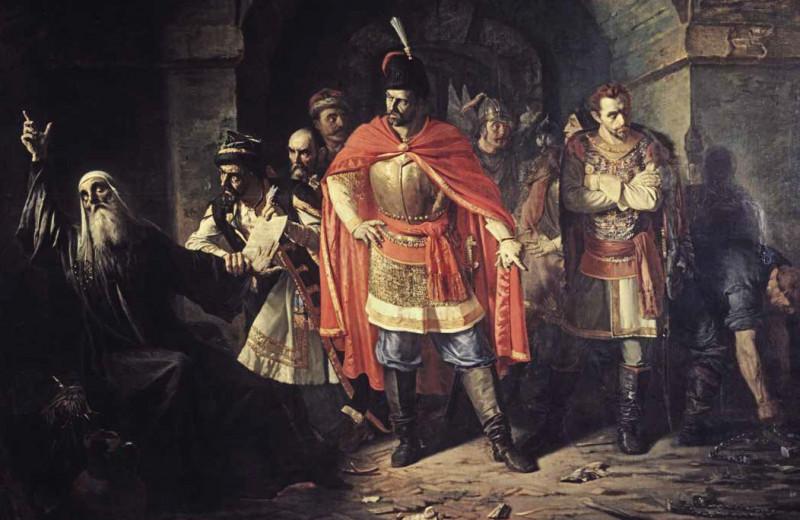 Патриарх Гермоген отказывает полякам подписать грамоту