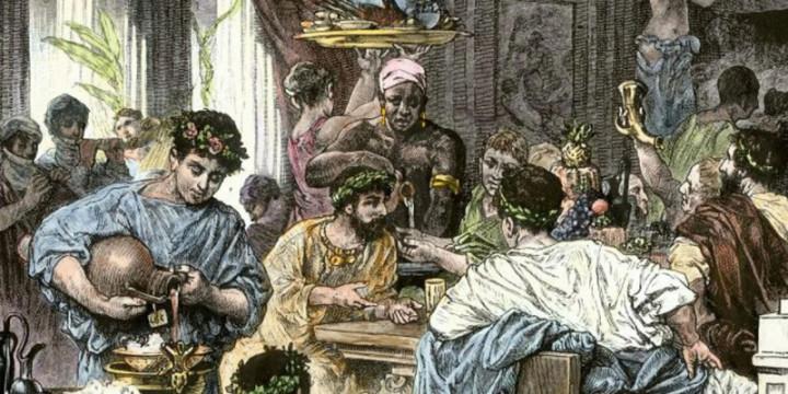 За столом у Калигулы