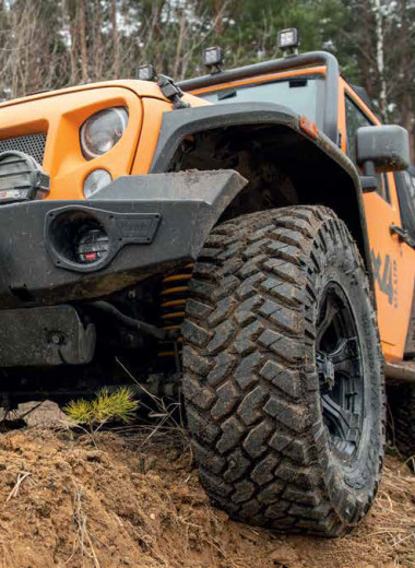 Nitto Trail Grappler M/T. На дороге и в грязи