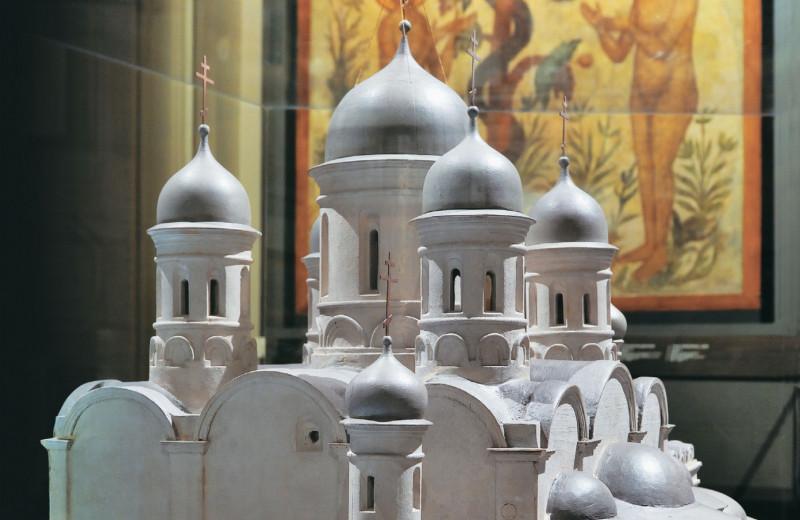 Калязин. Фрески затопленного монастыря