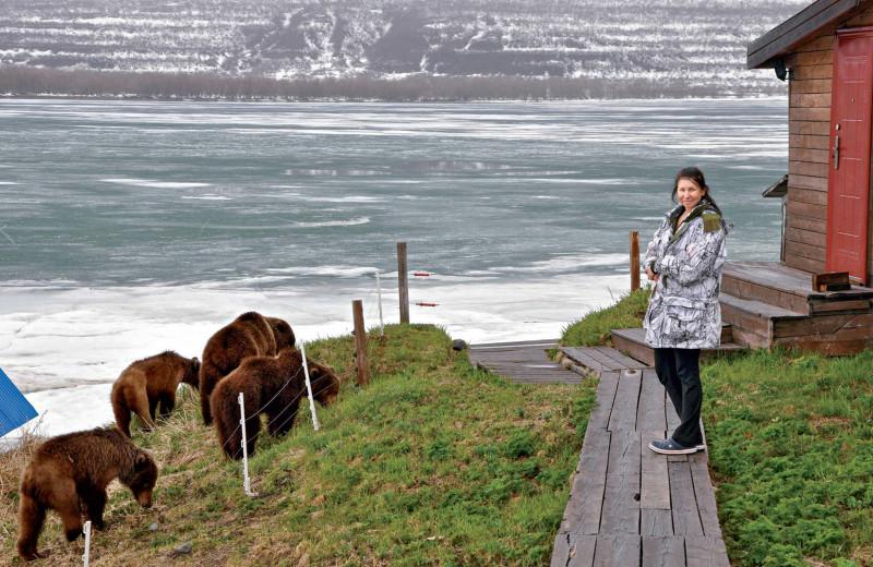 Лиана Варавская. Пейзаж с медведем: Увидеть Камчатку и стать инспектором заповедника