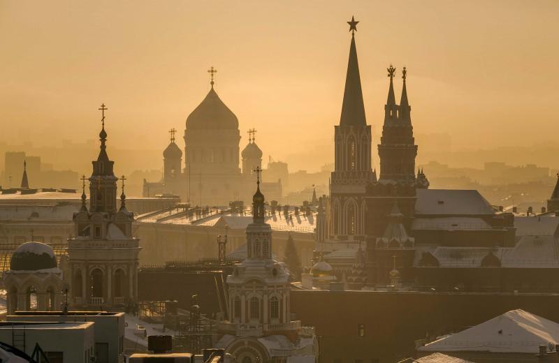 А где Кремль?