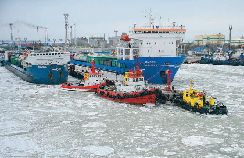 Порт Кавказ: паромная перезагрузка