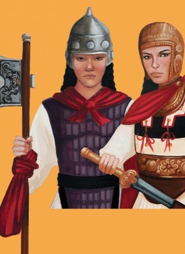 Женщины-воительницы