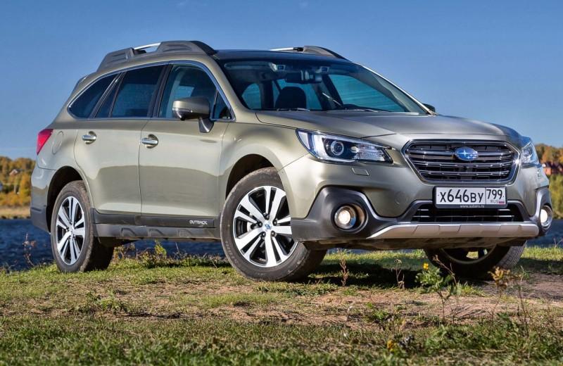 Subaru Outback: не притворяется