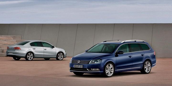 Volkswagen Passat. Выпускался с 2010 года
