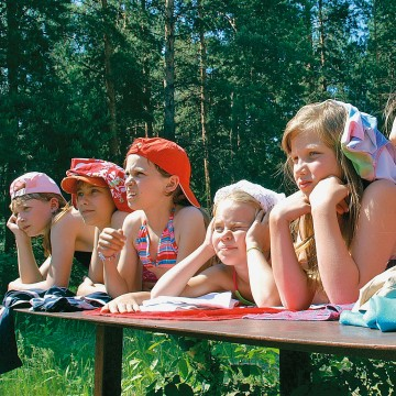 Лагерное лето
