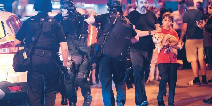 Теракт в Англии