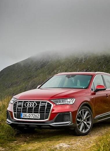 Audi Q7 и Genesis G80