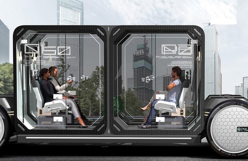 Pivot of Safety – автономный и самоочищающийся общественный транспорт будущего?
