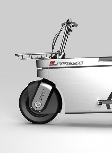 E-motocompo – угловатый мопед для многолюдных улиц