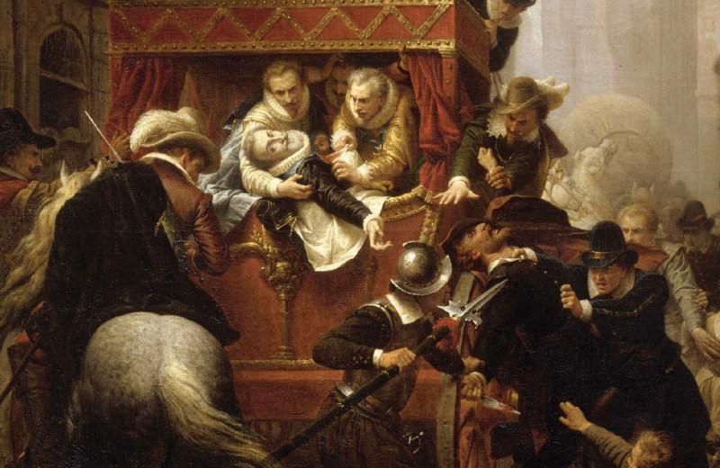 Убийство Генриха IV и арест Равальяка 14 мая 1610 года