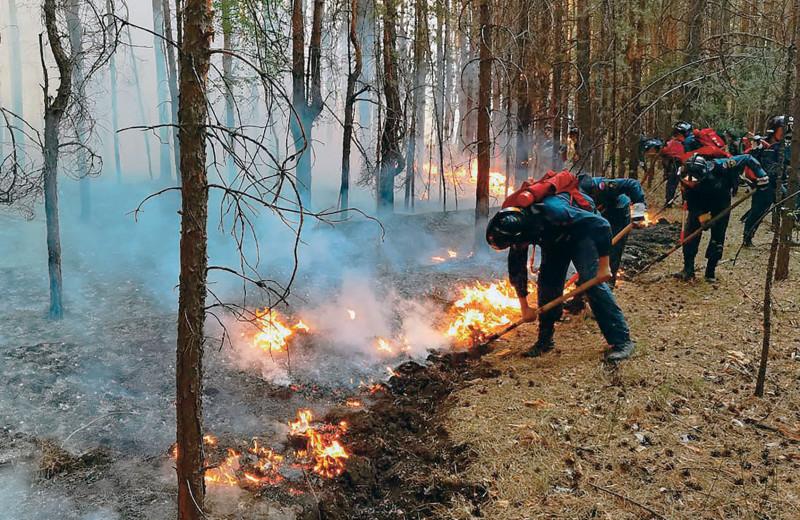 Планетарные риски русских пожаров
