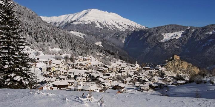 Австрия: горы, снег и солнце
