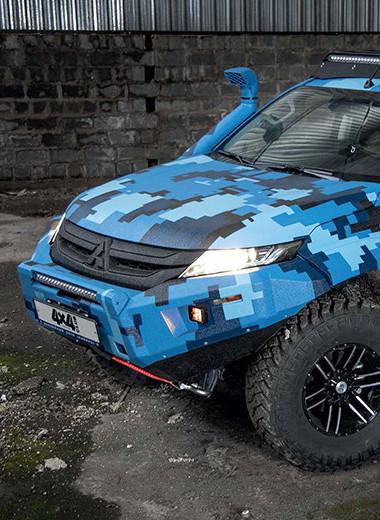 Mitsubishi L200 Siber Truck. Проверено Сибирью