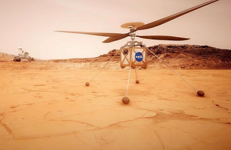 Полет над красной пустыней