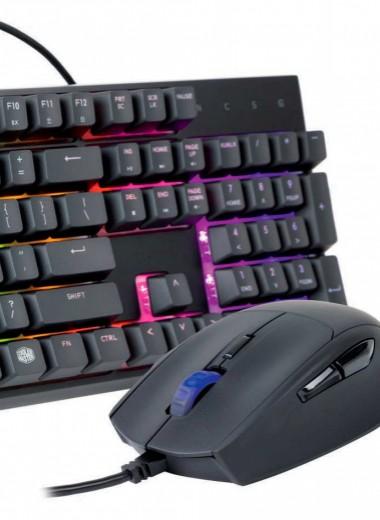 Клавиатура и мышь от Cooler Master