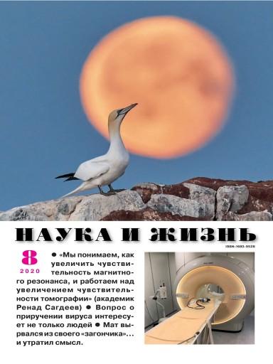 Наука и жизнь №8 август