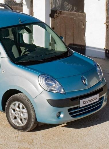 Renault Kangoo. На конвейере с 2008 года