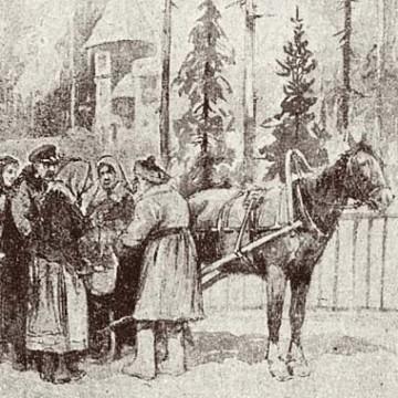 Огонек в январе 1917-го
