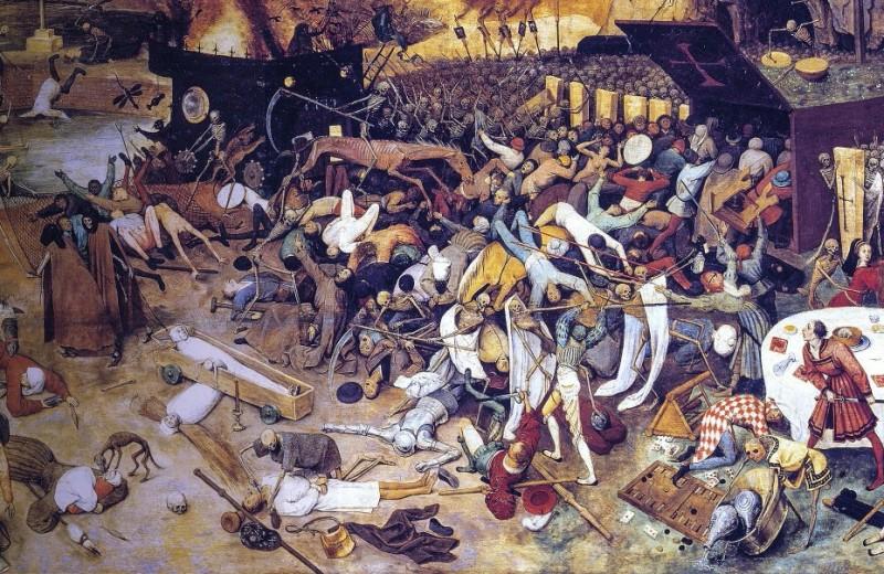 670 лет назад… Европу охватиласамая страшная в истории эпидемия чумы