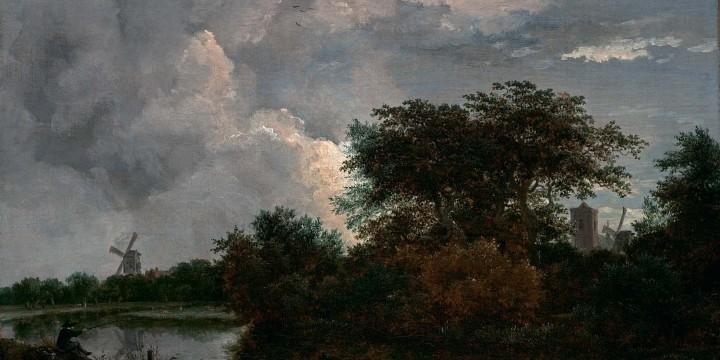Пейзаж Рёйсдаля.