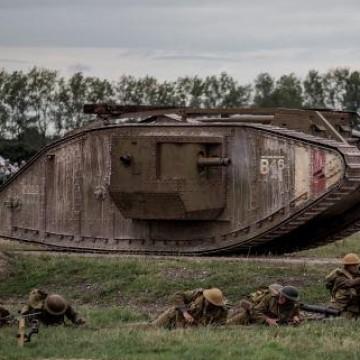 100 лет первому танку