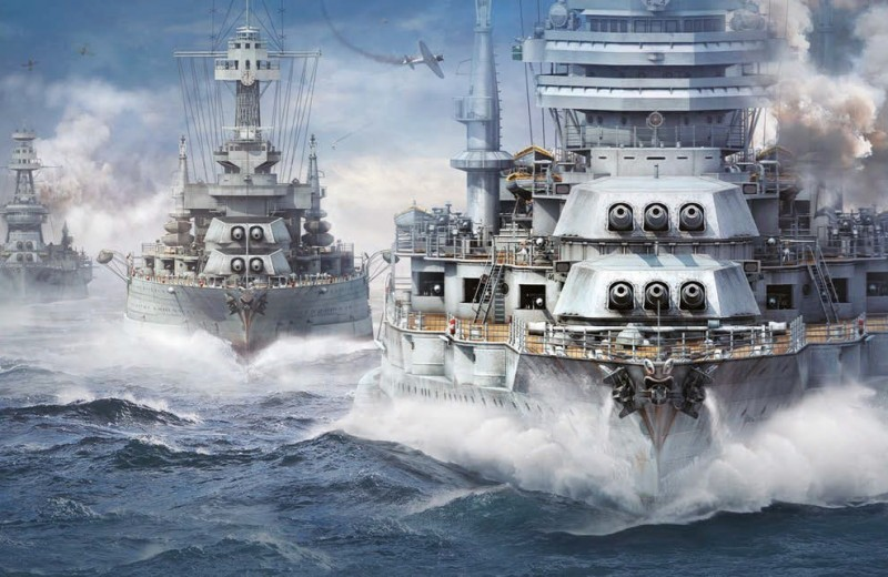 Эволюция World of Warships