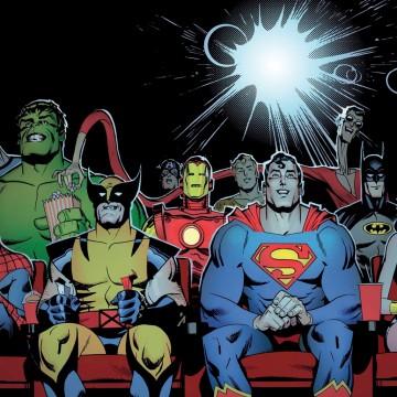 Монстры против супергероев