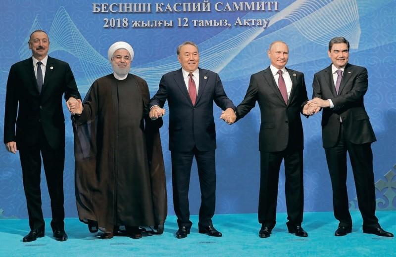 Пять друзей Каспия