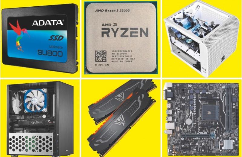 ПК на процессоре AMD для разных задач