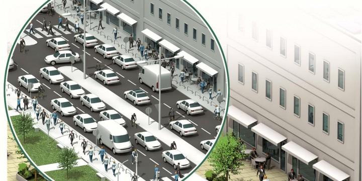 Города для жителей и динамичный трафик