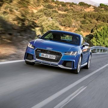 Audi TT RS. Сitroёn Grand C4 Picasso