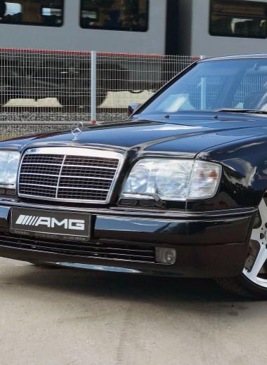 Mercedes-Benz W124 E60 AMG:лучший из лучших