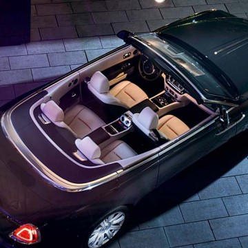 Rolls-Royce Dawn Открытый миру