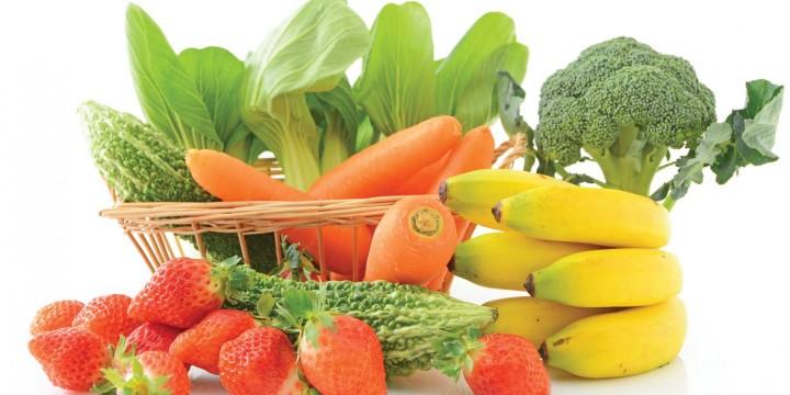 Овощи и фрукты в рационе кормящей мамы
