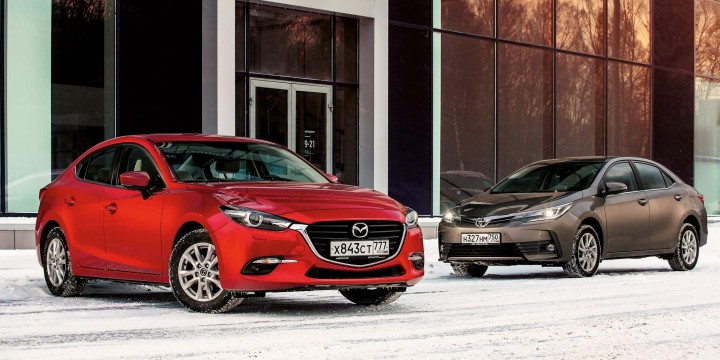 Mazda3 – Toyota Corolla. Разум и чувства.