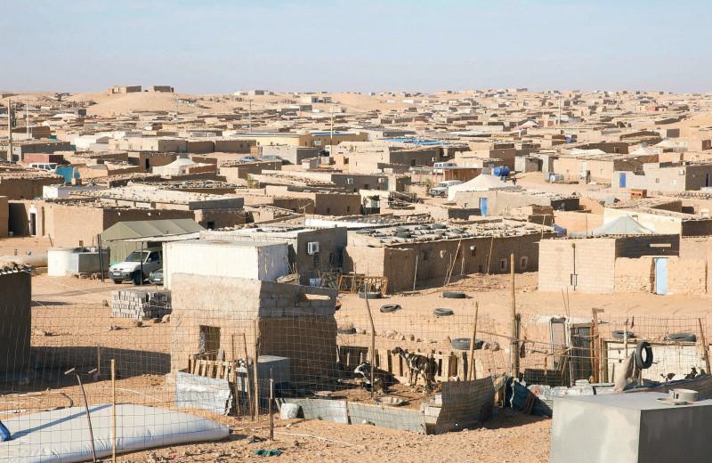 Горячий песок Западной Сахары