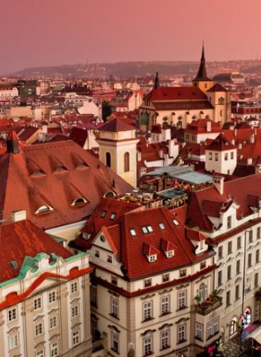 Город с красными крышами