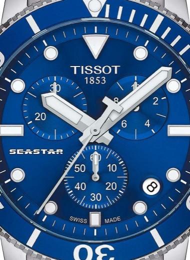 Время на глубине: Tissot Seastar 1000 Quartz Chrono