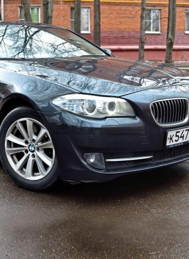 BMW 5 серии: когда хочется в бизнес-класс