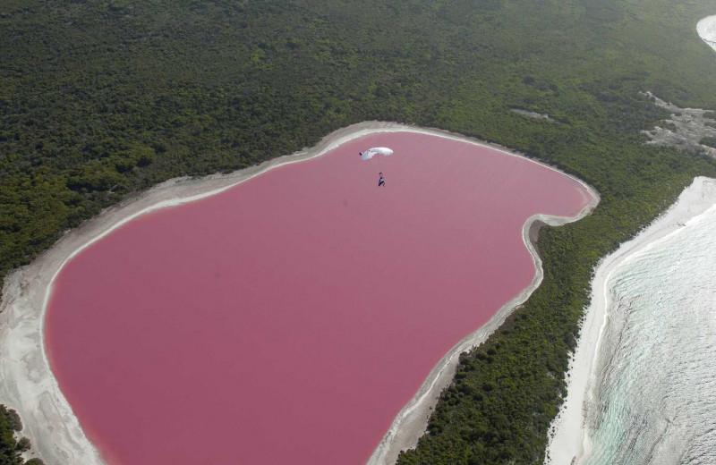 Озеро Хиллиер, Австралия