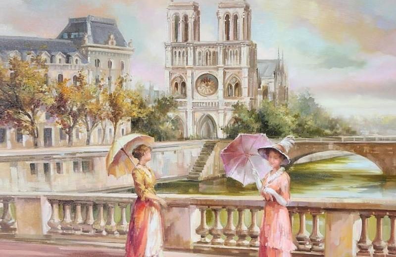 Стекло, ароматы, Париж…