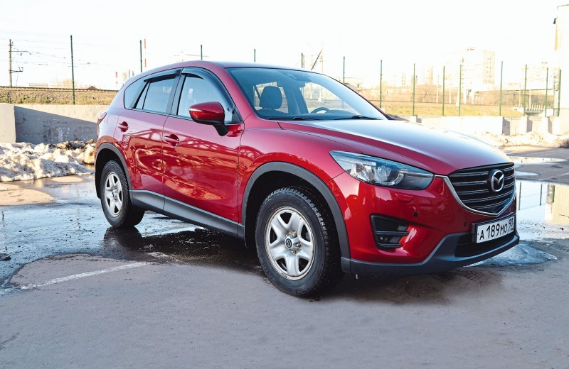 Mazda CX-5: Красная стрела